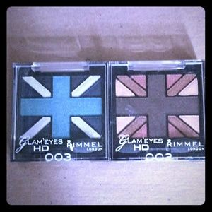 Set of 2 New , sealed Rimmel Eyeshadows